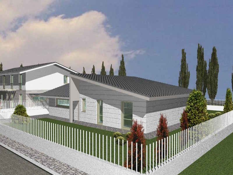 Villetta un piano luimmobile si sviluppa su un unico for Progetti case moderne su un piano